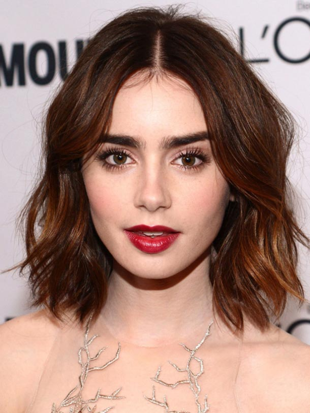 Lily-Collins-makeup-Glamour-Women-of-the-Year-awards-2013