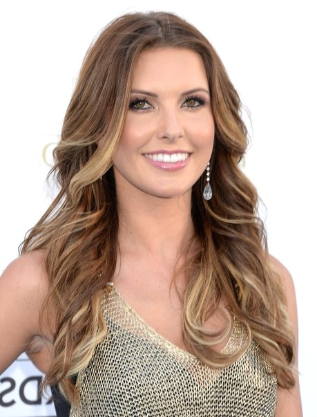 2014-Audrina-Patridge-Hairstyles-Tousled-Two-tone-Hair