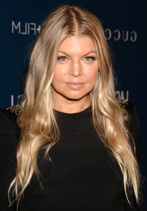 2014-Fergie-Hairstyles-Ombre-Long-Hair