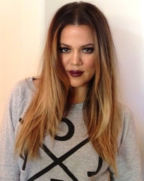 2014-Khloe-Kardashian-Hairstyles-Center-Part-Hairstyle-for-L