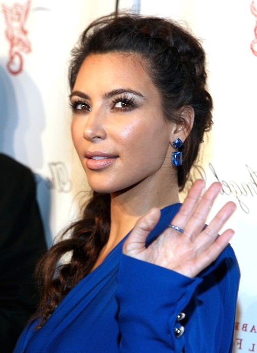 2014-Kim-Kardashian-Hairstyles--Braided-Long-Hair