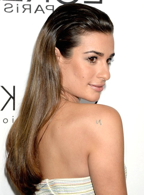2014-Lea-Michele-Hairstyles-Ombre-Straight-Hair